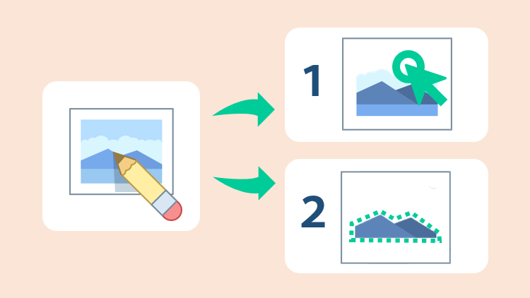パワーポイントで画像の背景透過をする方法は2種類