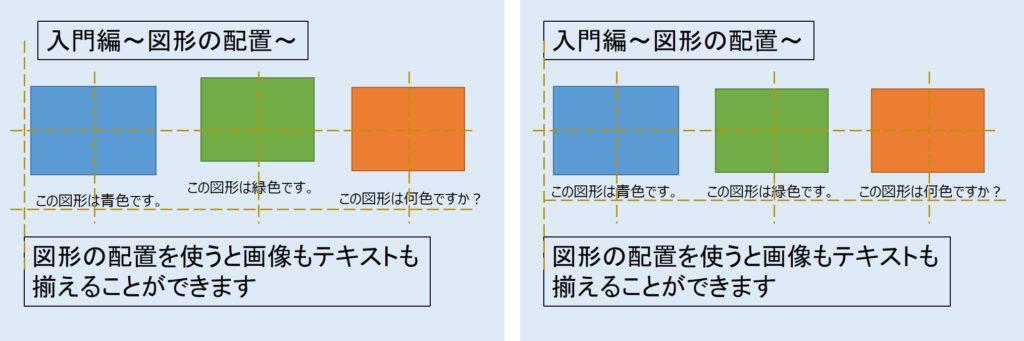 図形の配置例